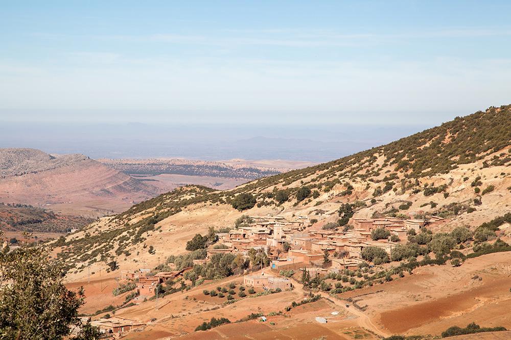 Dorf im Atlas-Gebirge
