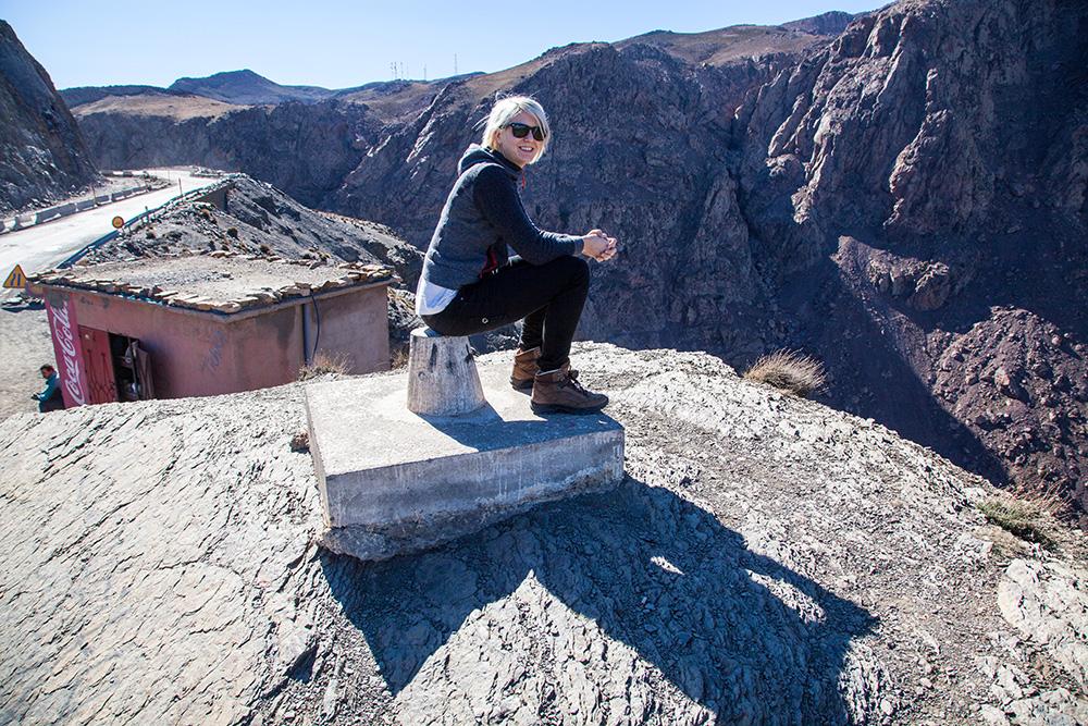 Pause im Atlas Gebirge