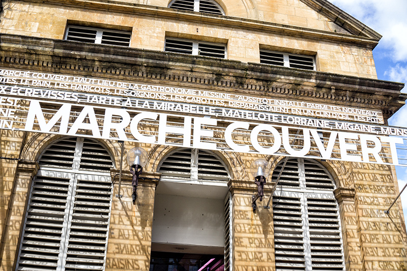 Marche Couvert in Metz
