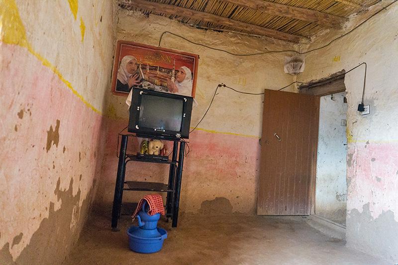 Haus der Berberfamilie