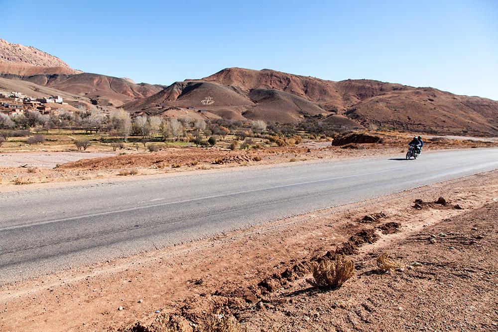 von Marrakesch in die marokkanische Wüste