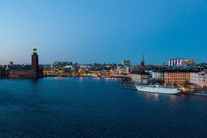 Stockholm Ausblick