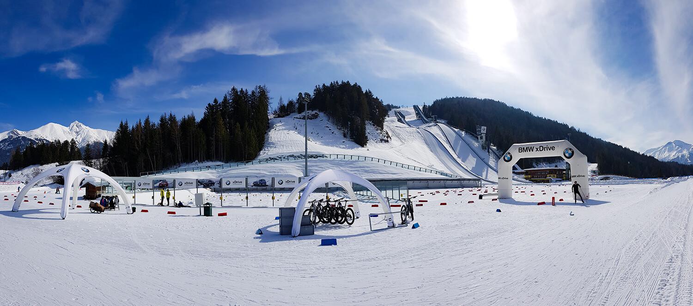 Panorama Olympiaregion Seefeld