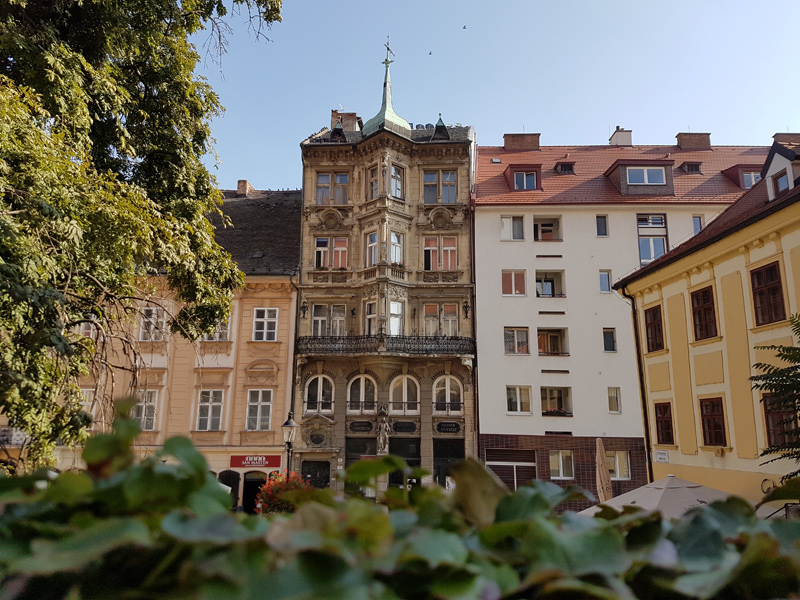 Altstadt in Bratislava