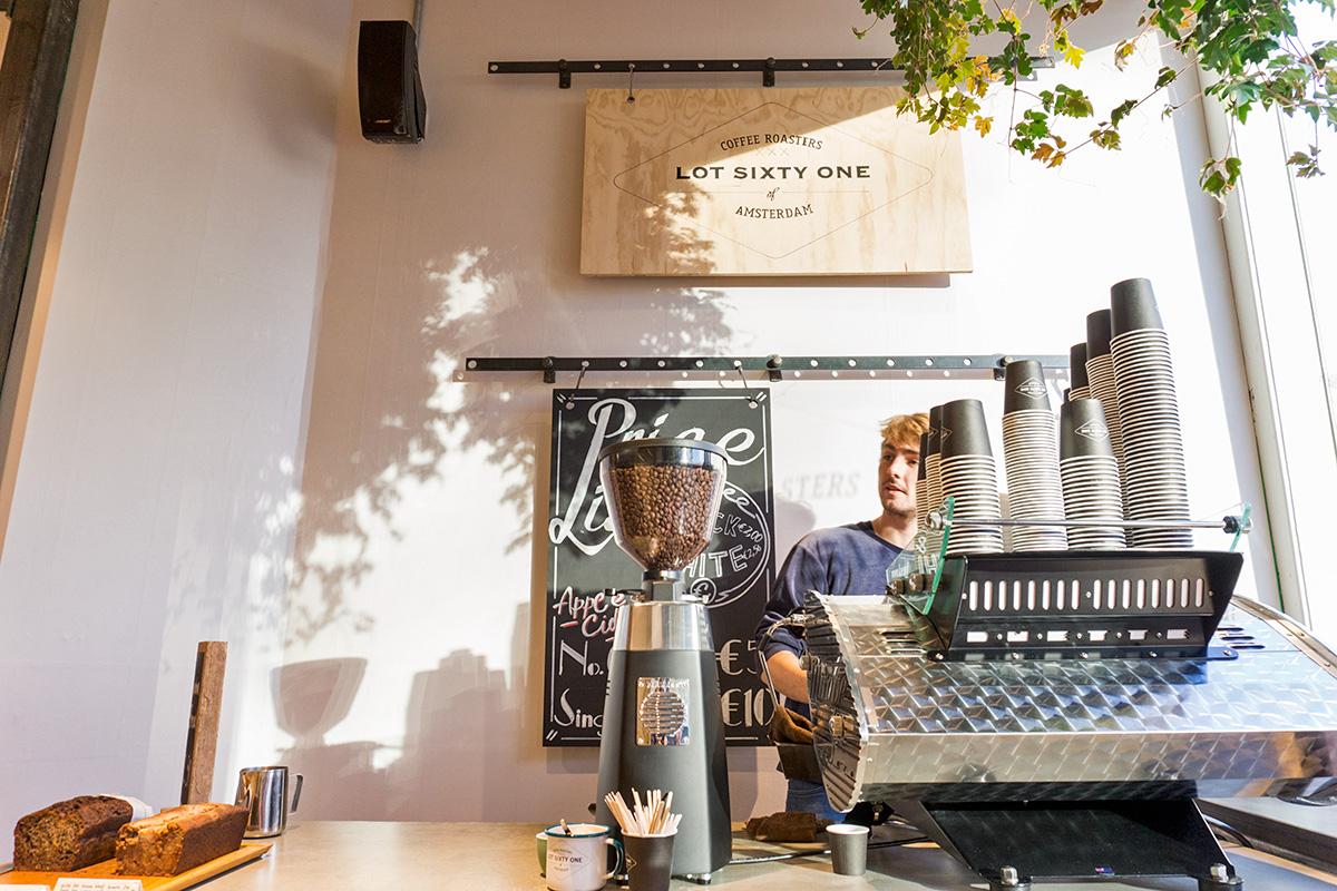Kaffee in Amsterdam