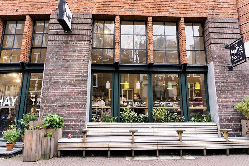 De Koffie Salon von außen