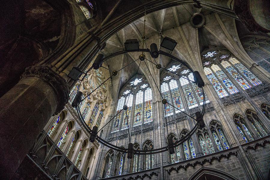 in der Kathedrale von Metz