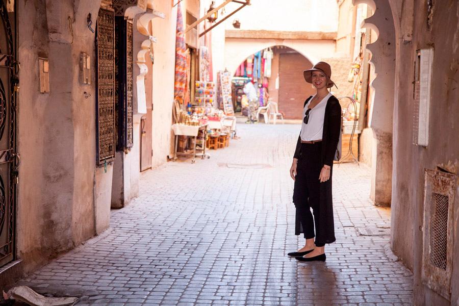 in den Gassen von Marrakesch