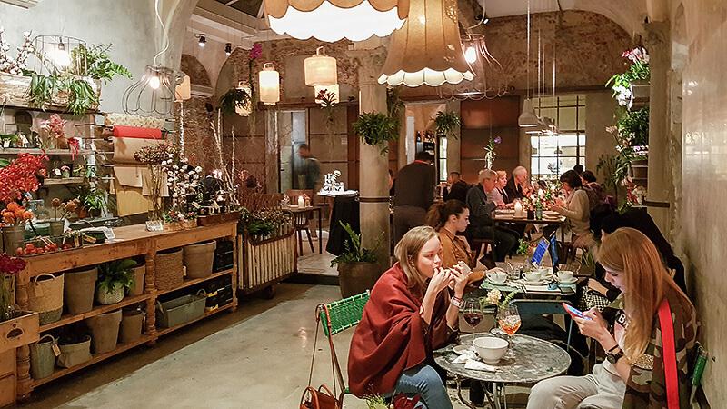 La Menagere Restaurant Florenz