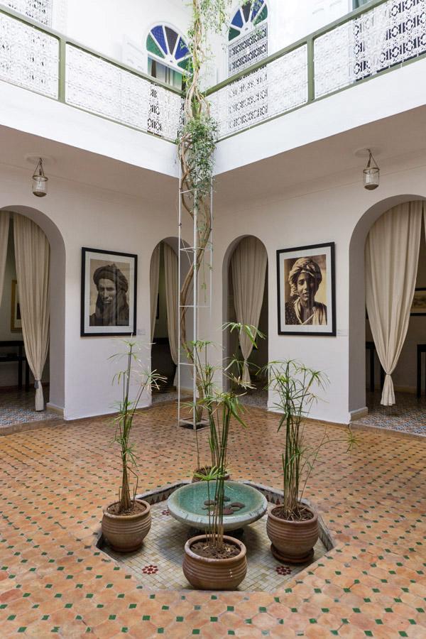 Innenhof der Maison de la Photographie
