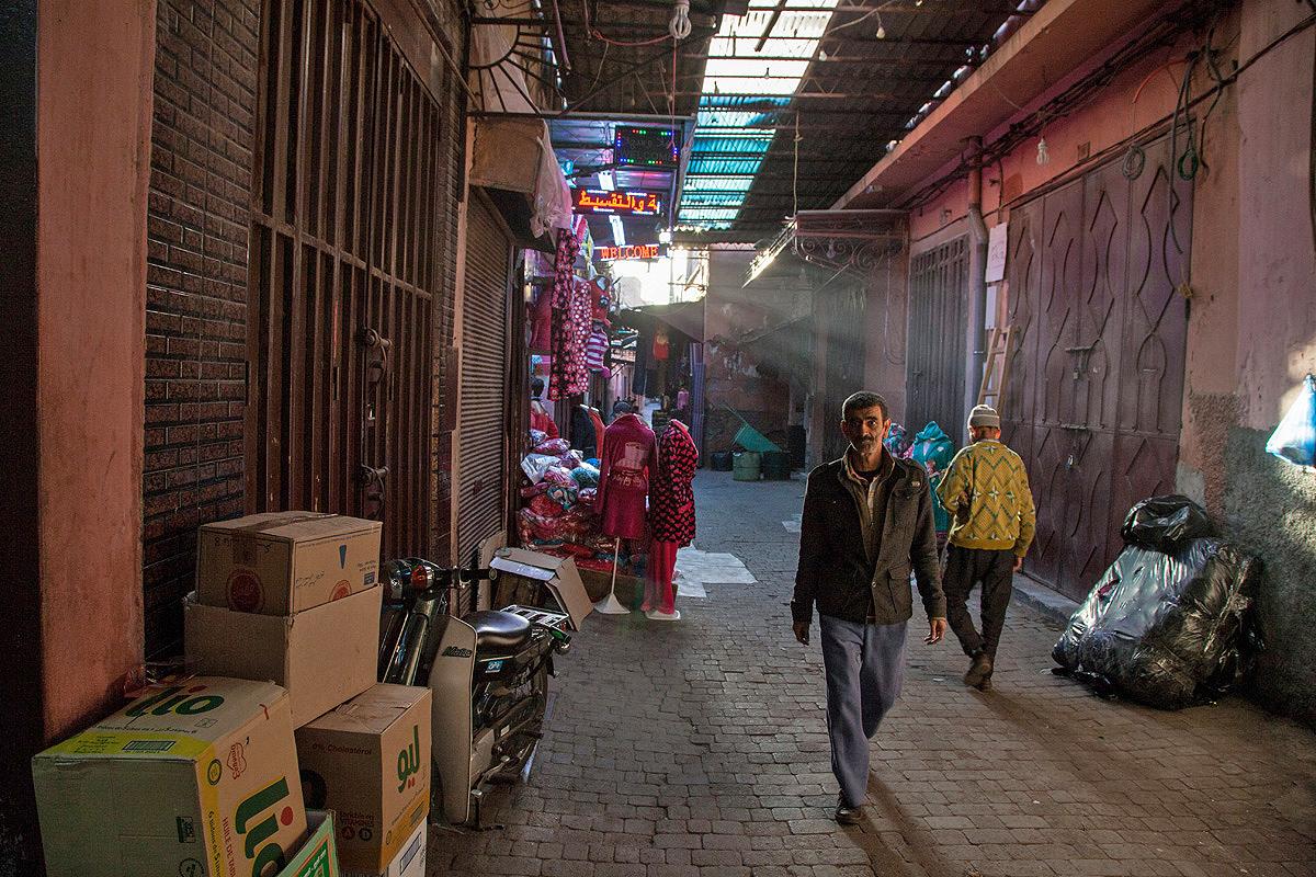 Souks von Marrakesch