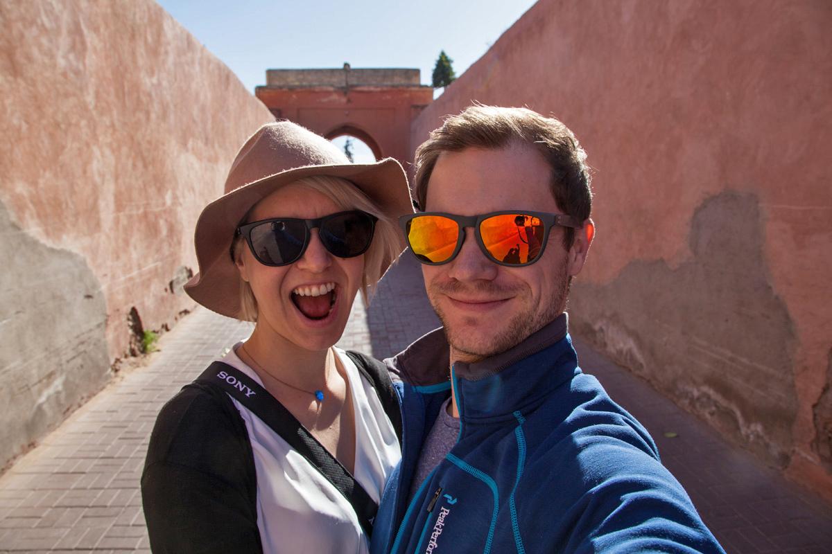 Marrakesch Selfie