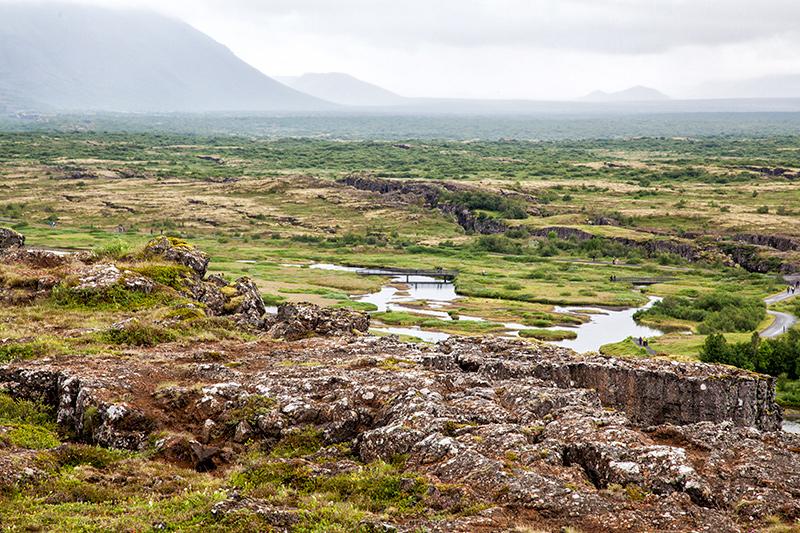 Pinghvellir in Island