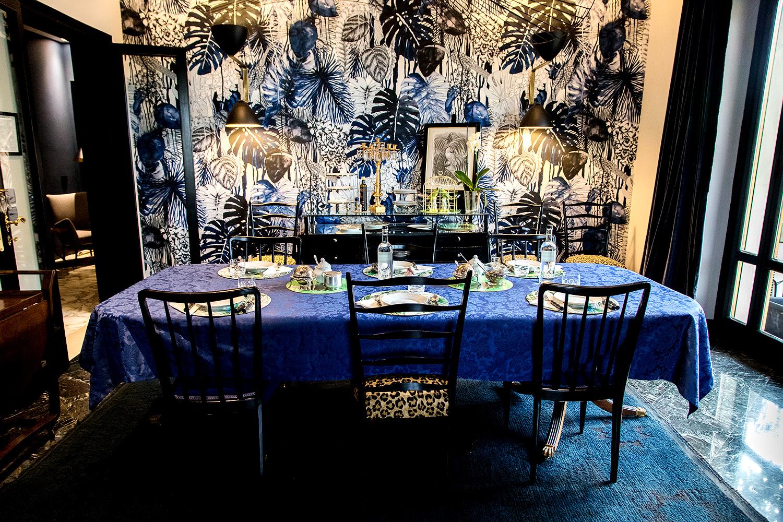 Frühstücksraum im Velona's Jungle
