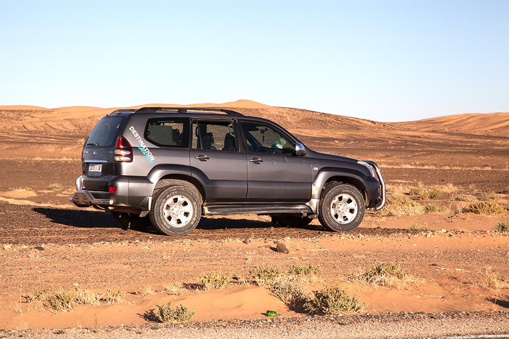 Fahrzeug Wüstentour